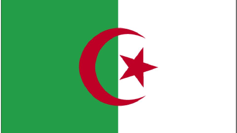 Flag for Algeria