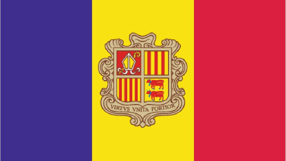 Flag for Andorra