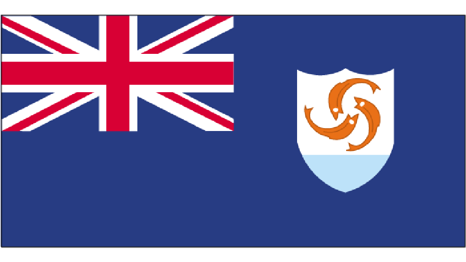 Flag for Anguilla