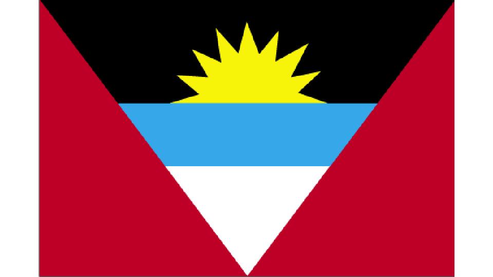 Flag for Antigua and Barbuda