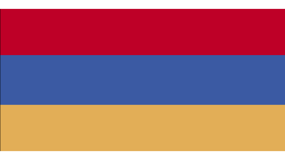 Flag for Armenia