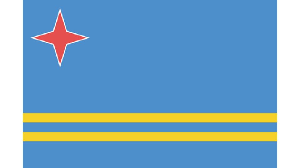 Flag for Aruba