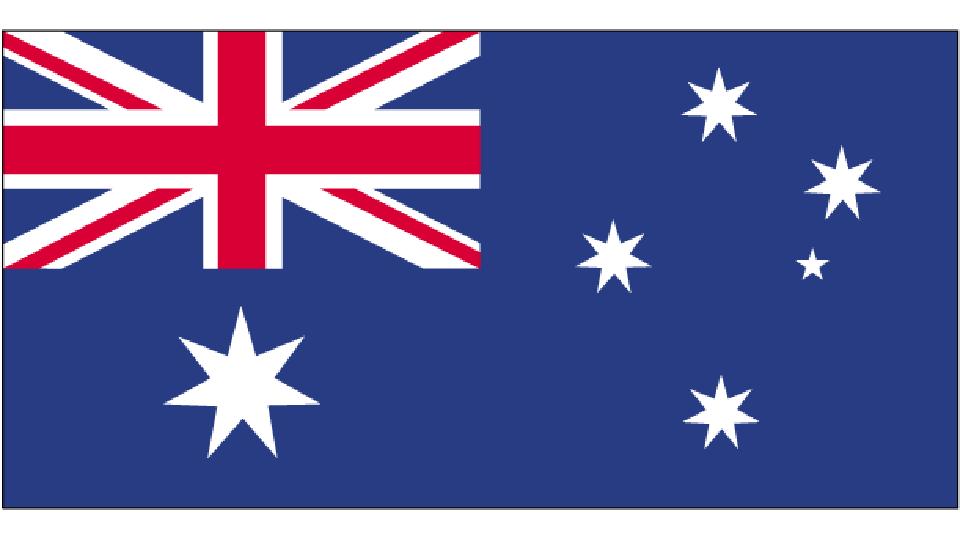 Flag for Australia