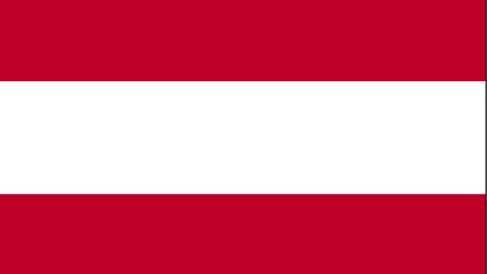 Flag for Austria