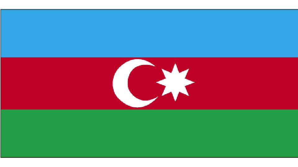 Flag for Azerbaijan
