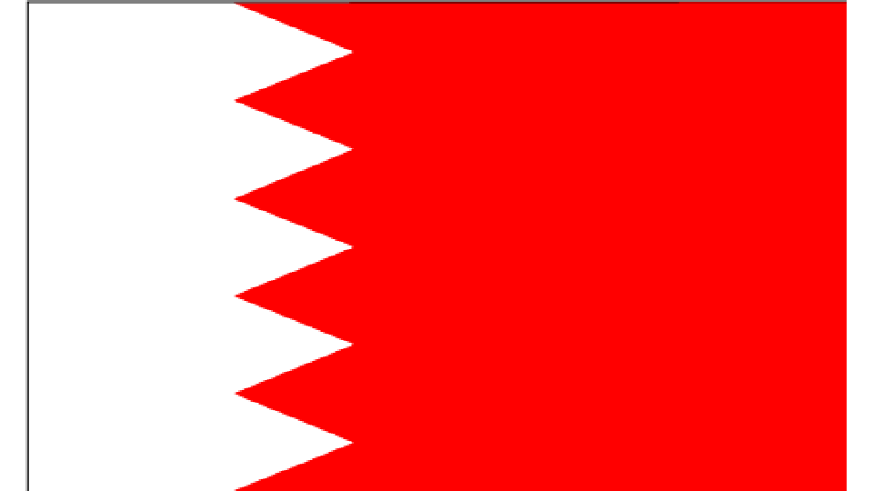 Flag for Bahrain