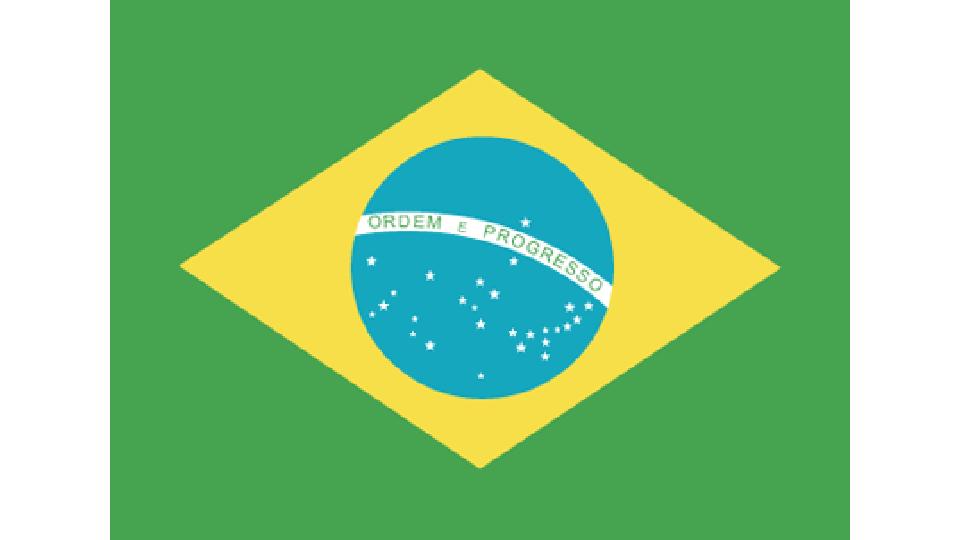 Flag for Brazil