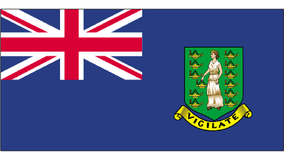 Flag for British Virgin Islands