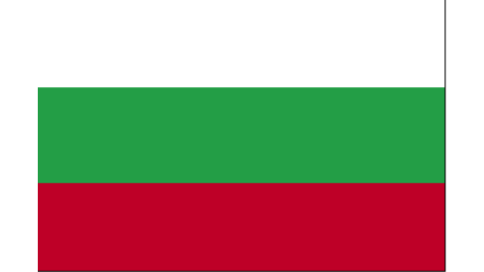 Flag for Bulgaria