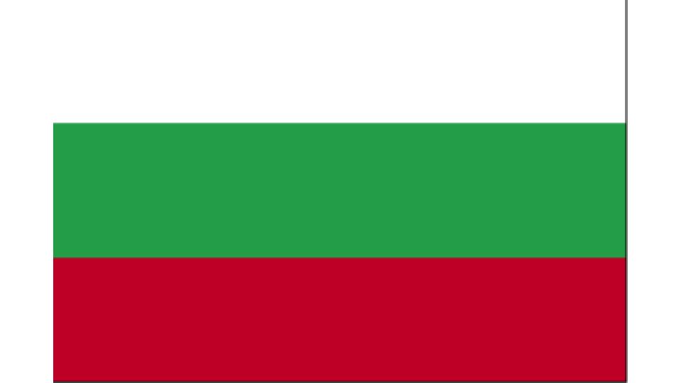 Flag for Bulgaria