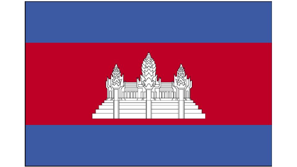 Flag for Cambodia