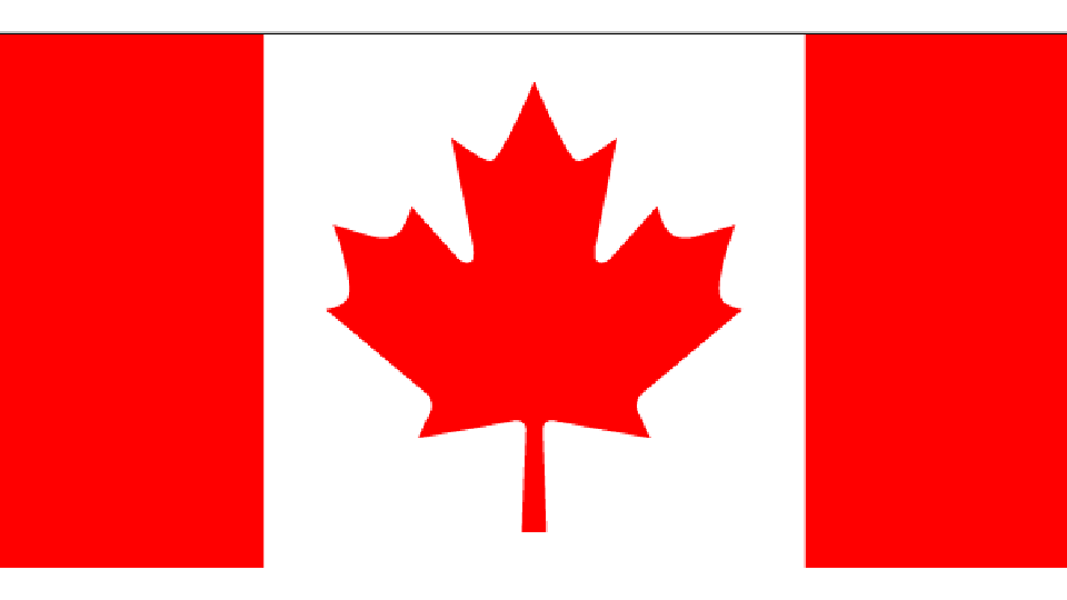 Flag for Canada
