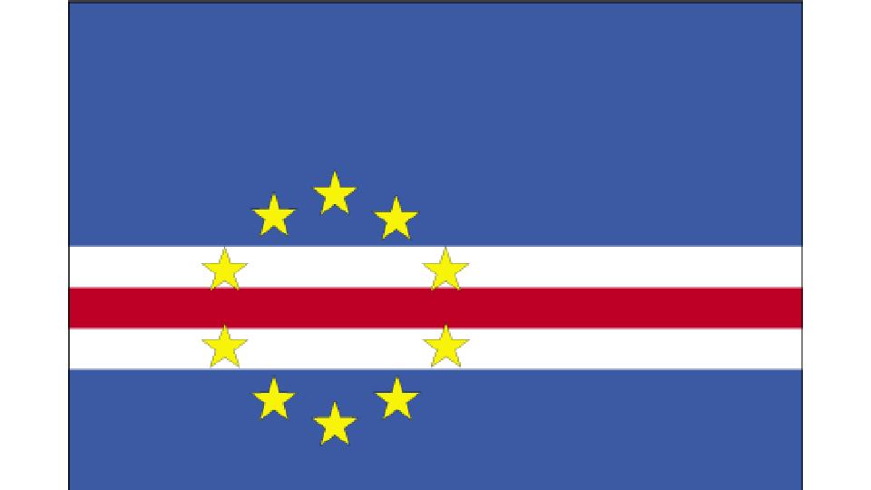 Flag for Cabo Verde