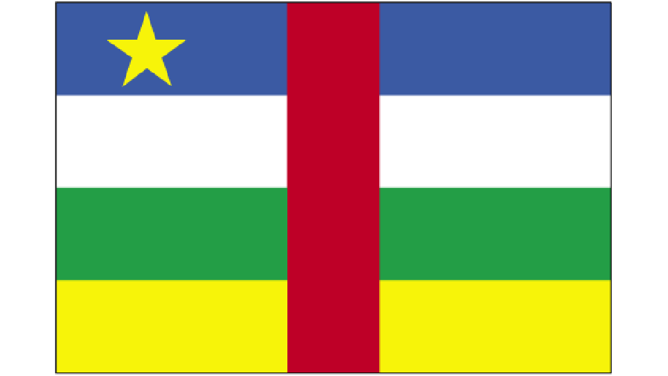 Flag for Central African Republic