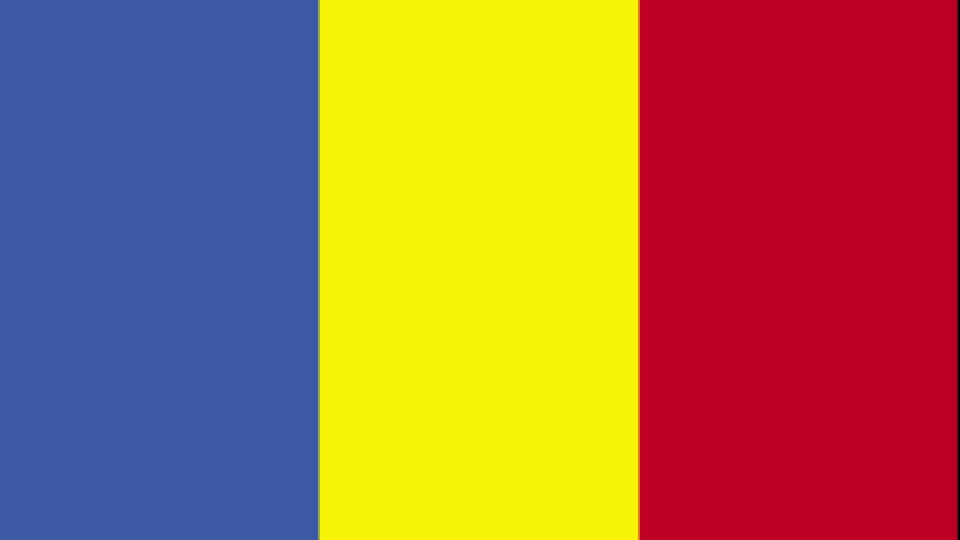 Flag for Chad