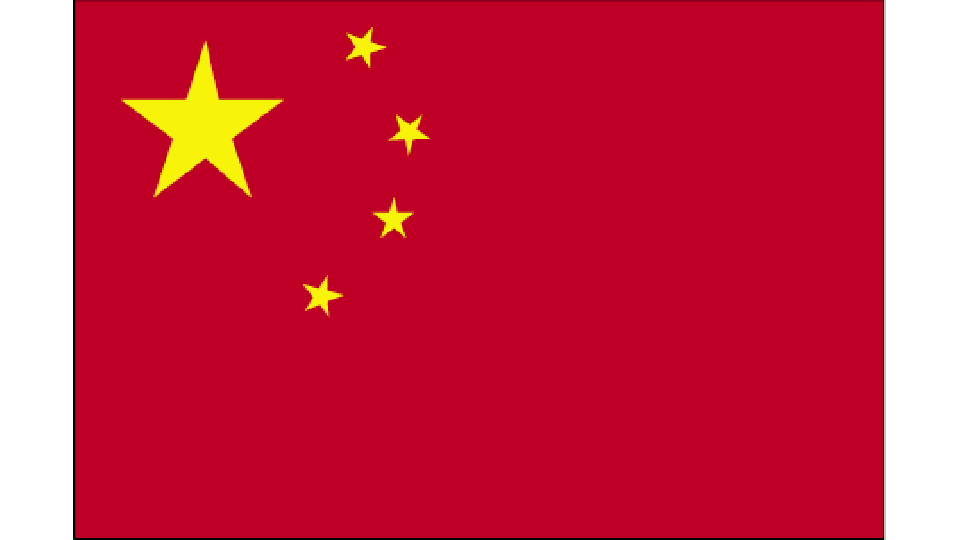 Flag for People's Republic of China