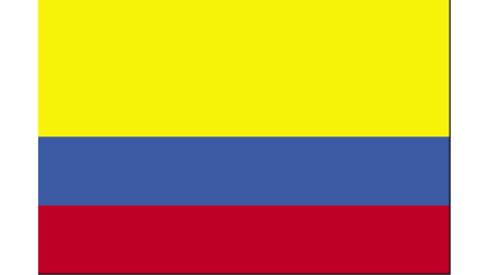 Flag for Colombia