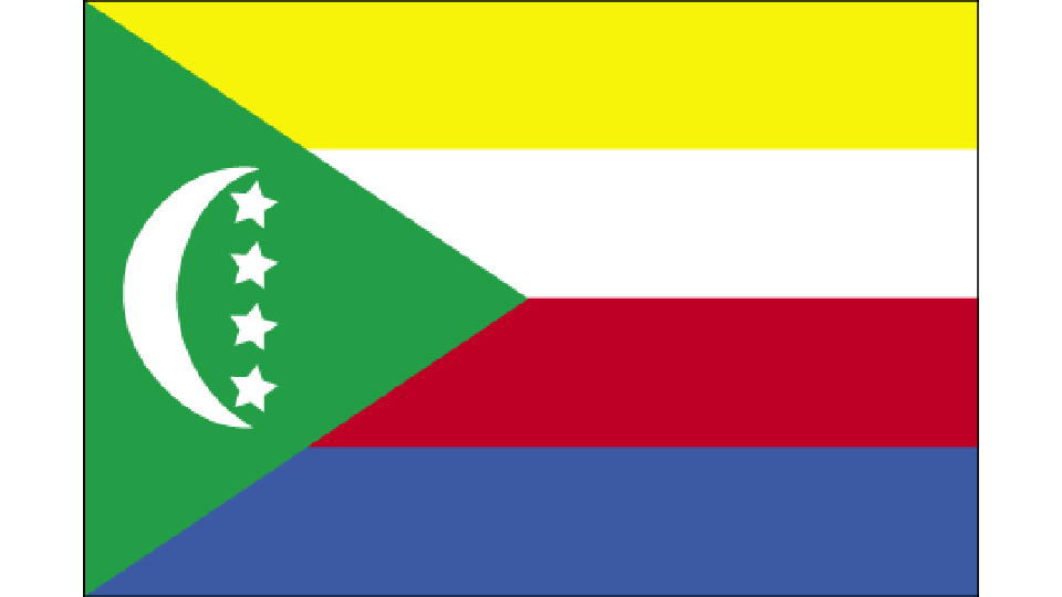 Flag for Comoros