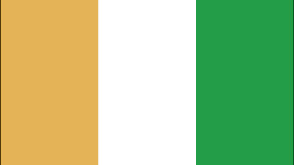 Flag for Cote d'Ivoire