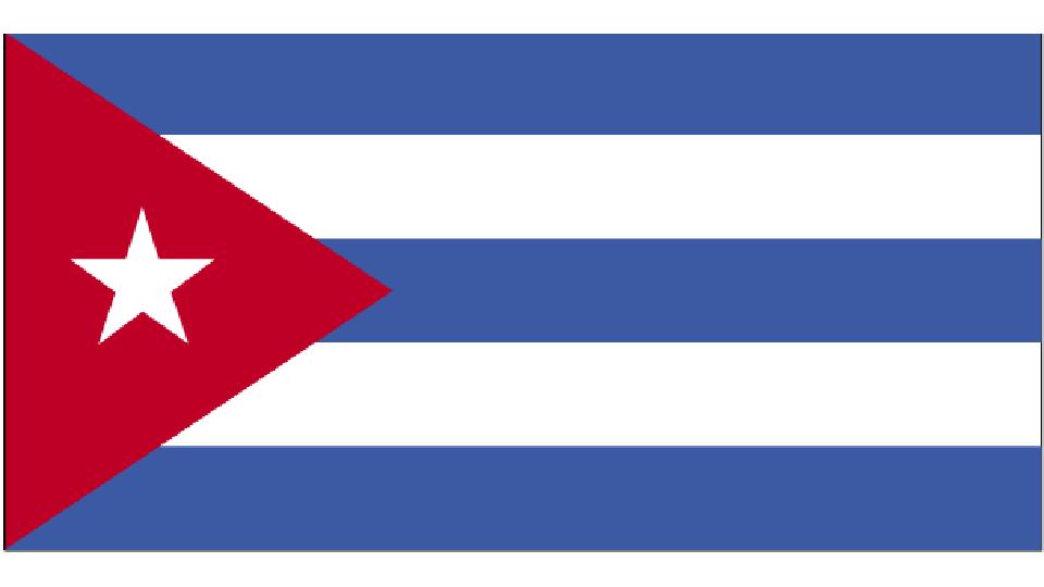 Flag for Cuba