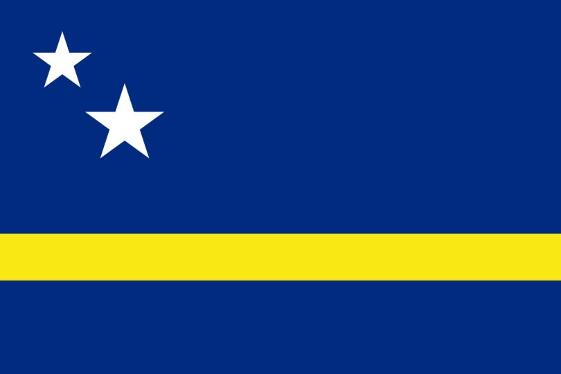 Flag for Curaçao