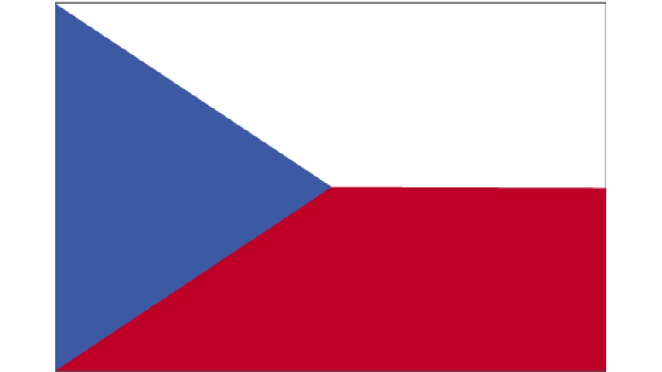 Flag for Czechia