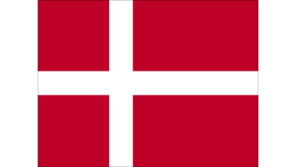 Flag for Denmark