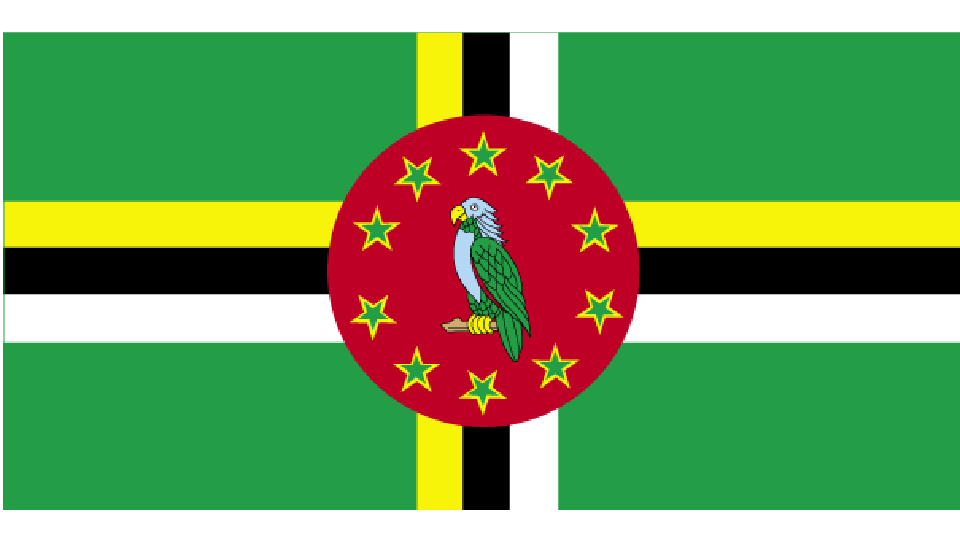 Flag for Dominica