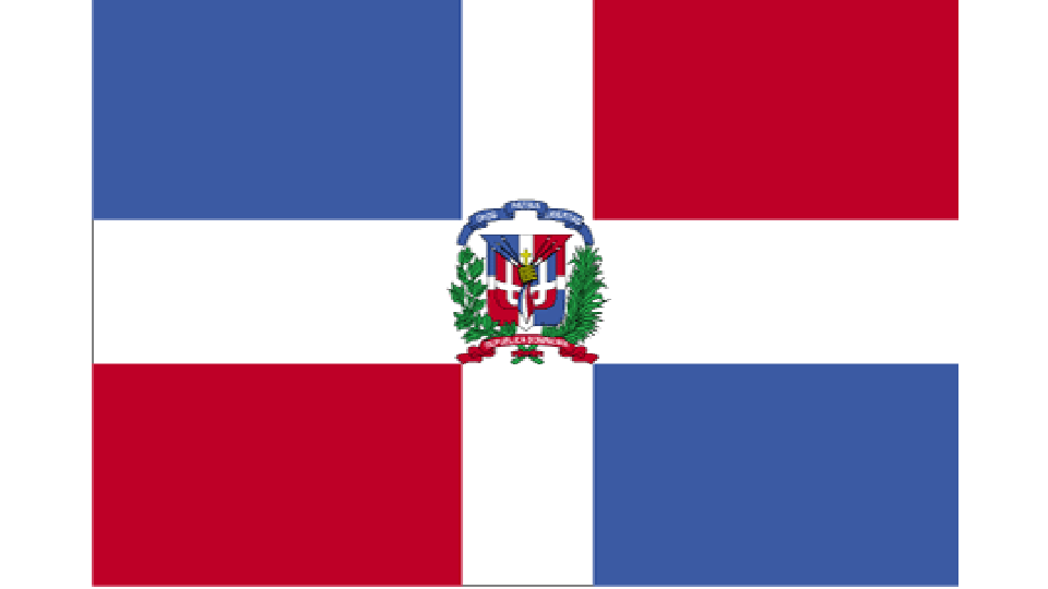 Flag for Dominican Republic