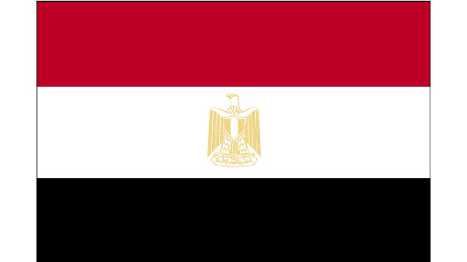 Flag for Egypt