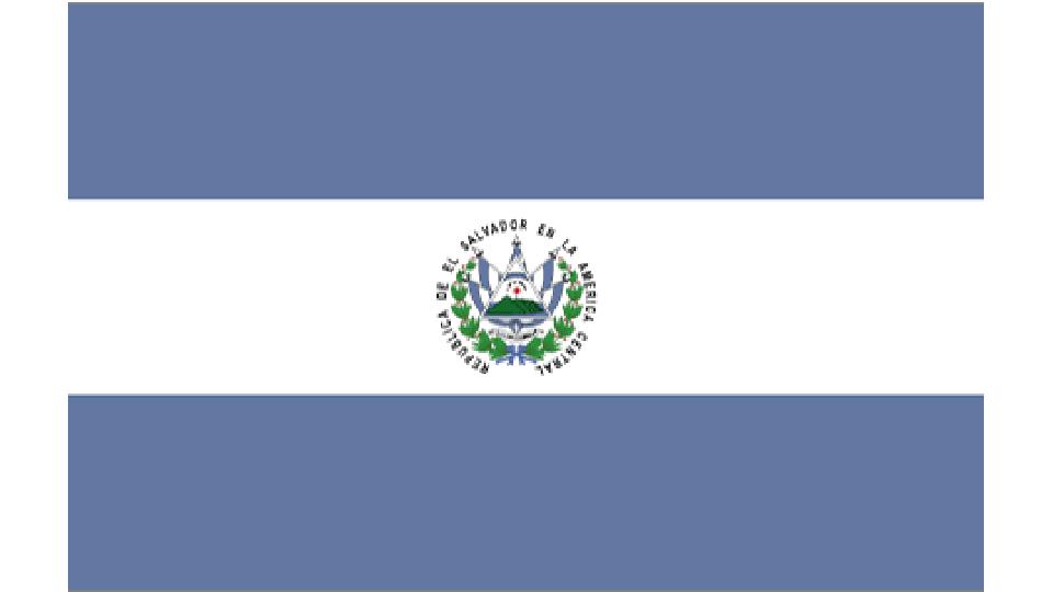 Flag for El Salvador
