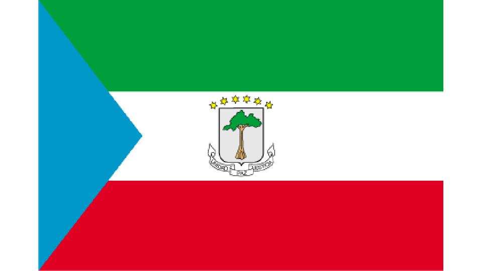 Flag for Equatorial Guinea