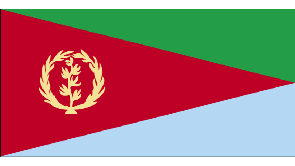 Flag for Eritrea