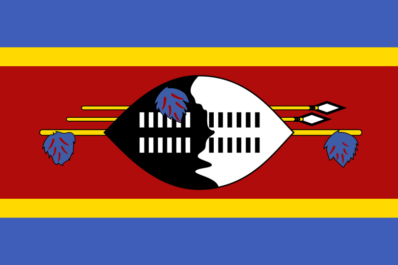Flag for Eswatini