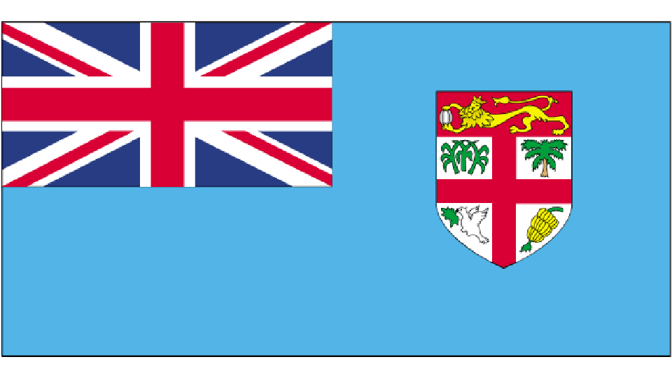 Flag for Fiji