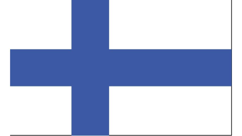 Flag for Finland
