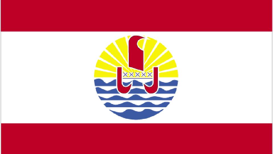 Flag for French Polynesia