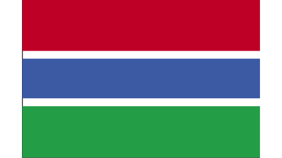 Flag for The Gambia