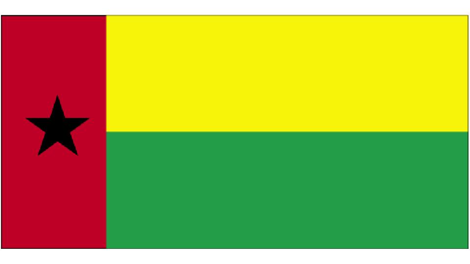 Flag for Guinea-Bissau