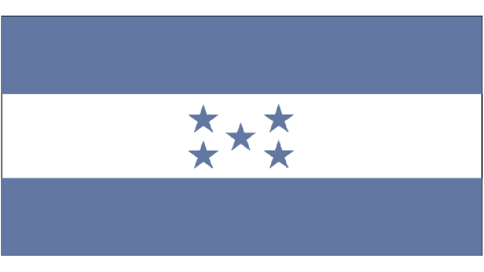 Flag for Honduras