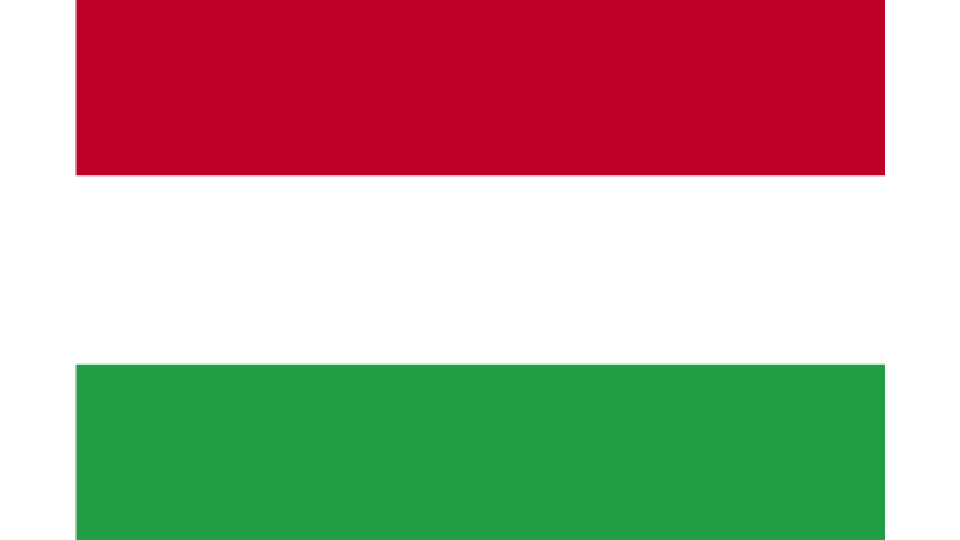 Flag for Hungary