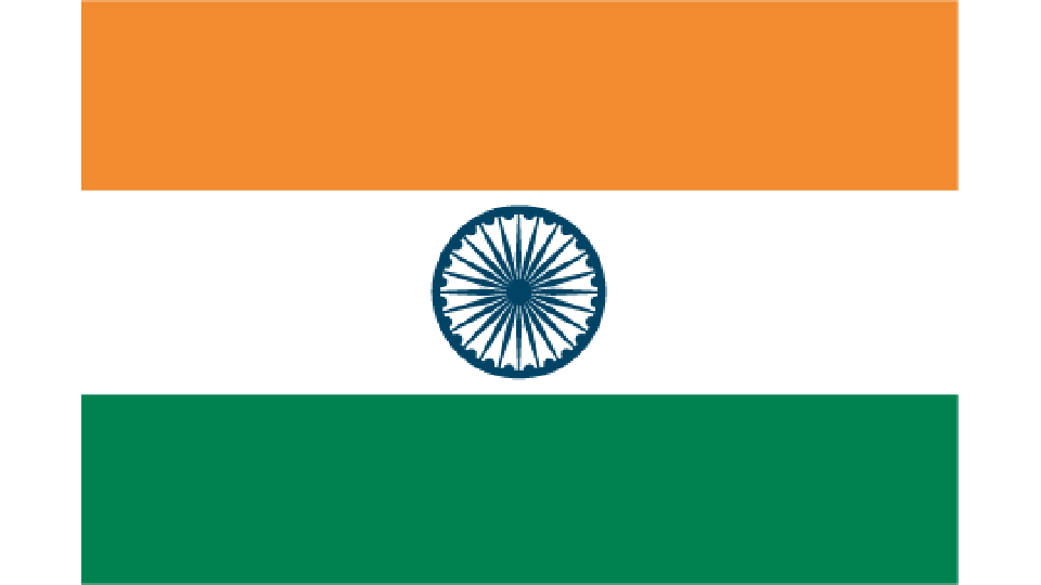 Flag for India