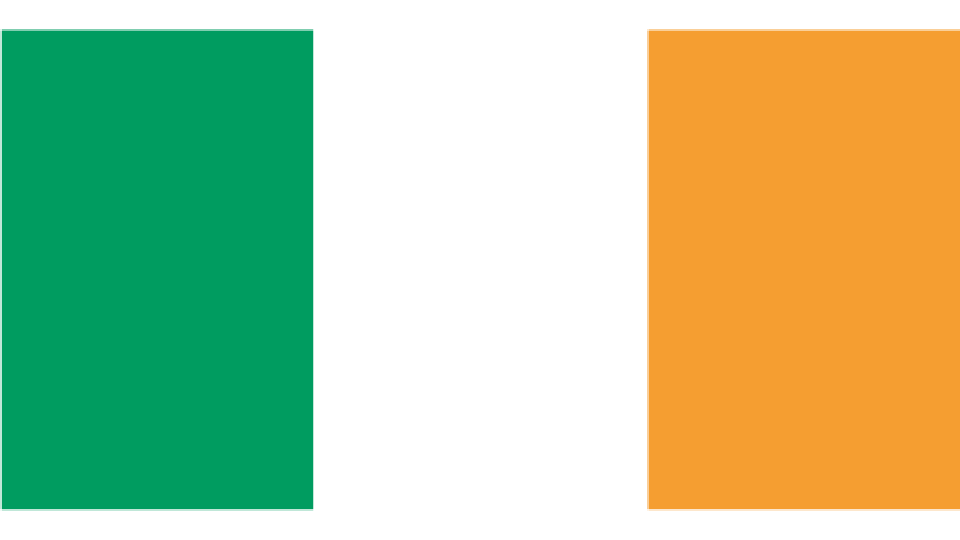 Flag for Ireland