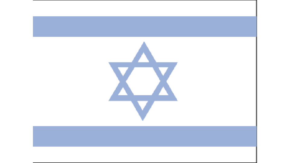Flag for Israel