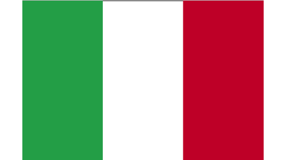 Flag for Italy
