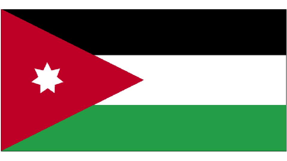 Flag for Jordan