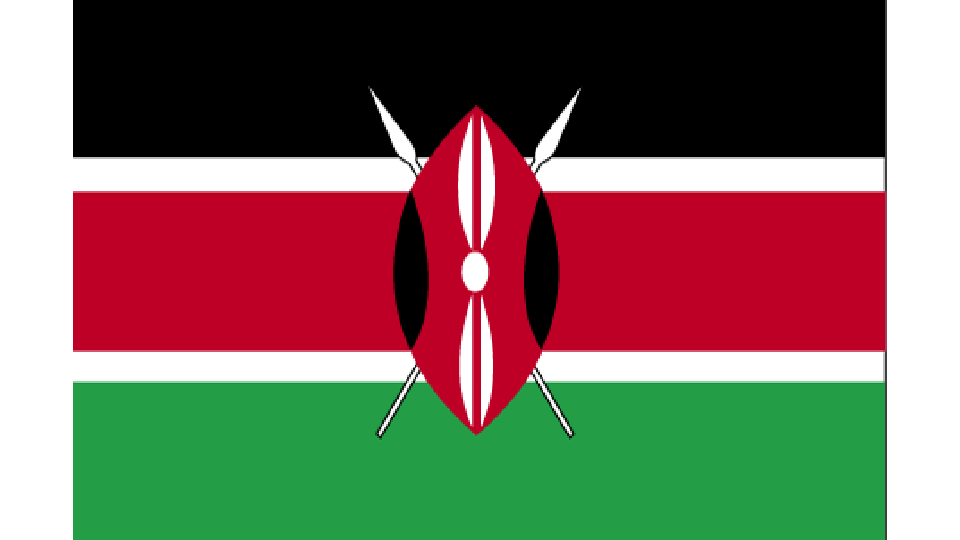 Flag for Kenya