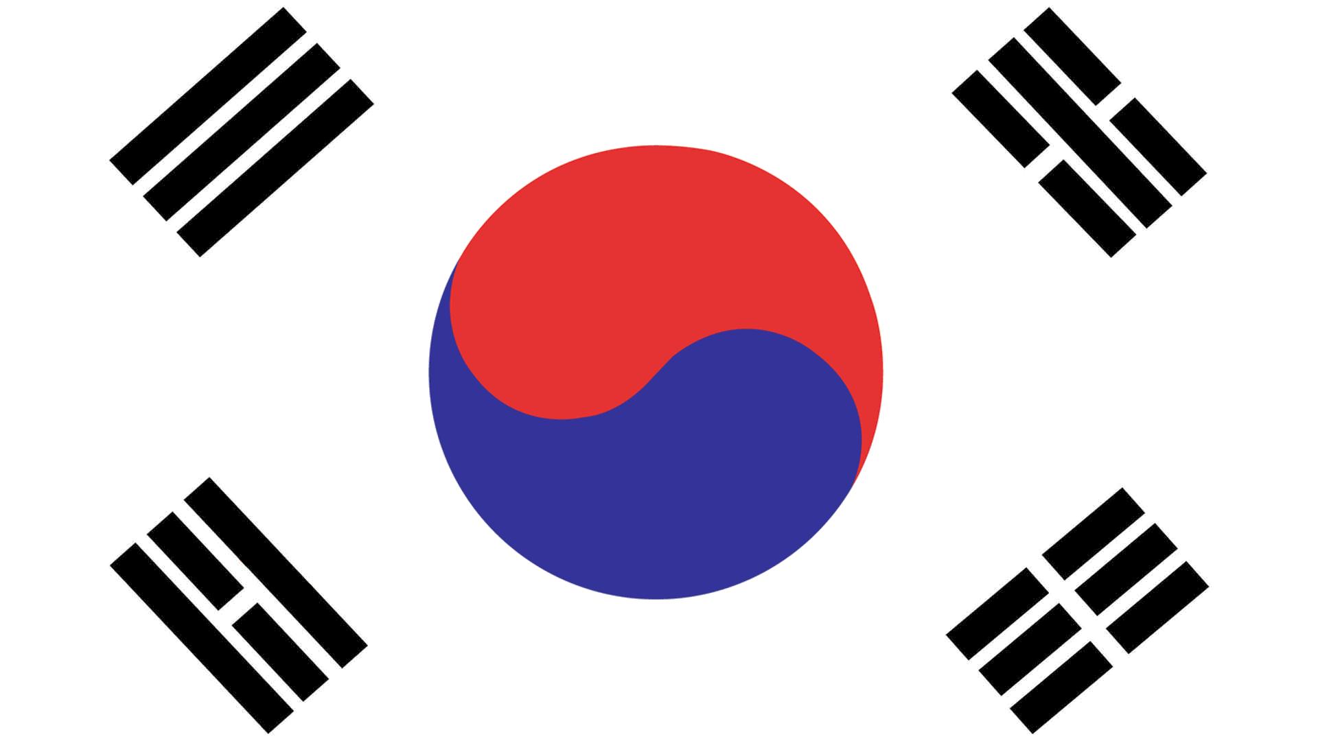 Flag for South Korea