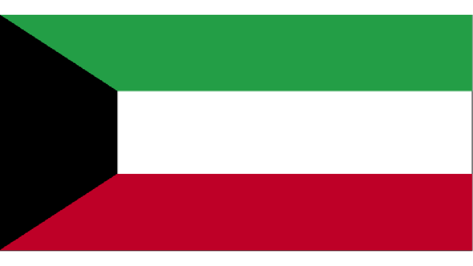 Flag for Kuwait