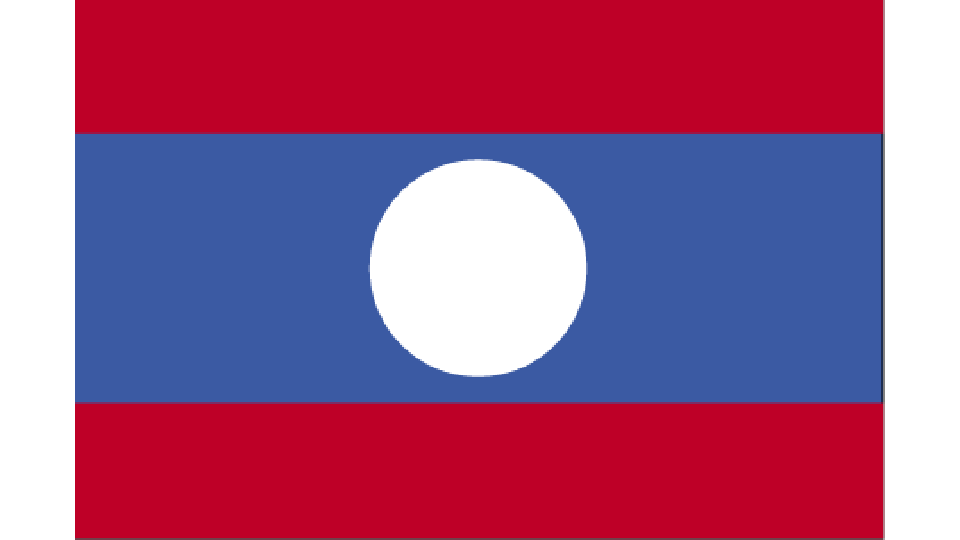 Flag for Laos